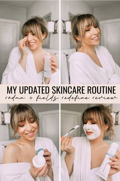 Sharing my updated skincare routine and a full review on the new and improved RODAN + FIELDS REDEFINE REGIMEN. This Rodan + Fields skincare routine is super easy and effective in anti-aging, fighting wrinkles and fine lines. This anti-aging skincare routine is a must try!
