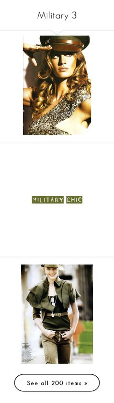 """""""Military 3"""" by sylandrya ❤ liked on Polyvore featuring models, backgrounds, people, military, pictures, text, words, quotes, editorials and sasha pivovarova"""