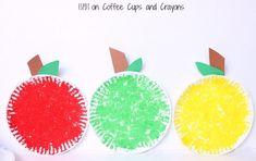 apple paper plate craft Creative Activities For Kids, Creative Kids, Crafts For Kids, Arts And Crafts, Paper Plate Crafts, Paper Plates, Preschool At Home, Preschool Activities, Coffee Crafts