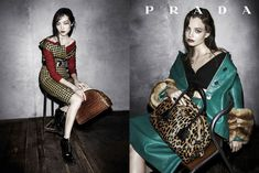 Fashion campaign F/W 2013 by Prada www.fashiontalesandotherstories.com