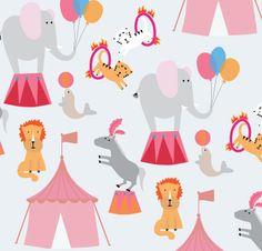 .. circus kids print in progress ...