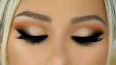 ♡ Smokey Eyes Makeup Tutorial! || Neutral & Dramatic ♡10