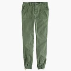 Slim Cargo Pant In Stretch Chino EUC. Color: Aspen Fern. Size 6. J. Crew Pants Ankle & Cropped