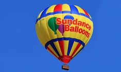 Hot-Air Balloon Ride for 1 or 2 on a Weekday Morning, Evening or Anytime from Sundance Balloons (Up to Off) i haven't bought this yet, but I'm really thinking about it Air Balloon Rides, Hot Air Balloon, Air Ballon, Before Sunrise, Balloon Animals, Once In A Lifetime, 2 In, Balloons, Adventure