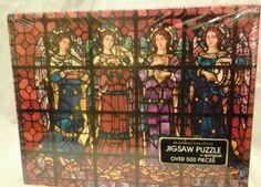 Vintage Springbok Puzzle | Heavenly Glass