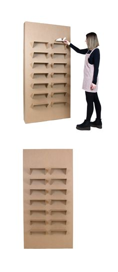 Cardboard Tube Crafts, Cardboard Design, Cardboard Display, Shoe Display, Display Design, Shoe Store Design, Exhibition Display, Cardboard Furniture, Craft Business