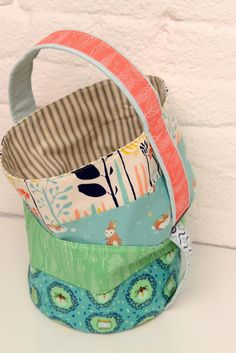 Lindsay's Picks - Easter Fabrics and some Inspired Baskets!