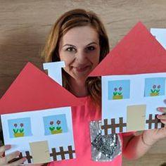 House 🏡  #craftingwithreny #easycraftforkids #papercat #kindergarten #kindergartenclass #kindergartenactivities #schoolcrafts #schoolteacher #teacher #teachercrafts Fun Crafts For Kids, Christmas Crafts For Kids, Easy Crafts, Art For Kids, Diy And Crafts, Preschool Family, Preschool Crafts, Spring Activities, Art Activities