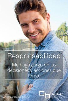 Responsabilidad  #Terapia #DecidoSerFeliz #Bienestar #SaludEmocional