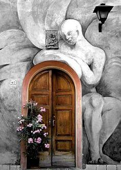 Art door in Dozza