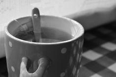 Good morning tea with my husband <3
