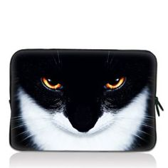 """Amazon.com : Smiling cat 13"""" 13.3"""" inch Notebook Laptop Case Sleeve Carrying bag for Apple Macbook pro 13 Air 13/ Samsung 900X3 530 535U3/Dell XPS 13 Vostro 3360 inspiron 13/ ASUS UX32 UX31 U36 X35 /SONY SD4 13/ ACER 13/ThinkPad X1 L330 E330 : Computers & Accessories"""