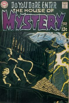 House of Mystery 179. Cover art by Neal Adams. #comic #horror