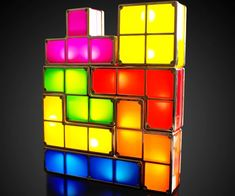 Light up your home or office with these Tetris lights that brightly glow when they are pieced together. Perfect for retro gamers who found the game of Tetris harder to quit than crystal meth, these geeky lights will be a conversation starter wherever you put them.