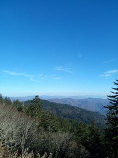 Mountain View near Clingman Dome, Smokey Mountains,Tennessee