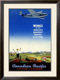 Canadian Pacific Airlines Giclee Print at AllPosters.com
