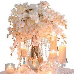 Show Ad - Decor - USA - California - Acrylic Hanging Crystal Garland Manzanita Branches Cake Stands Wishing Trees | Weddingbee