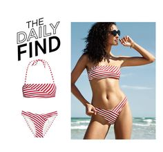 """Daily Find: H&M Bikini"" by polyvore-editorial ❤ liked on Polyvore featuring H&M, modern and DailyFind"