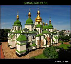 Saint Sophia's Cathedral, Kiev  #World heritage