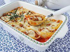 Ala piecze i gotuje: Muszle makaronowe z mięsem