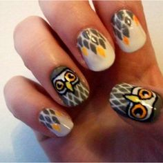 The 42 Best Owl Nails Gotta Get Them Done On My Nails Images On