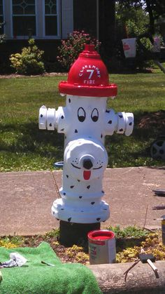 Fire Up Claremont Hydrant Painting Contest winner located in Downtown Claremont