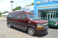 2017 Chevy Express 2500 - Explorer Limited X-SE VC - Mike Castrucci Conversion Van Land Chevy Express, Great Legs, Family Travel, Conversation, Car Seats, Conversion Van, Explorer, Family Trips, Car Seat