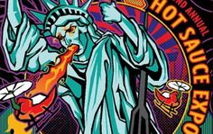 NYC Hot Sauce Expo - Sample hot sauce and spicy eating contests