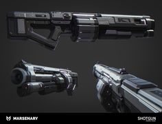 Z's Alternative Grenade Launcher Sci Fi Weapons, Weapon Concept Art, Weapons Guns, Fantasy Weapons, Combat Shotgun, Ninja Sword, Cool Guns, Awesome Guns, Future Weapons