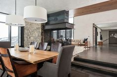 Mountain Modern modern-esszimmer