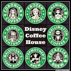 Disney Coffee House. I don't drink coffee!!! :)