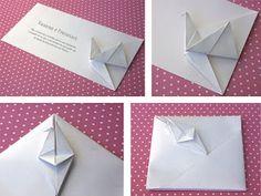 rita vaz origami: Convites em Origami