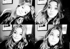Find images and videos about black and white, pretty little liars and pll on We Heart It - the app to get lost in what you love. Pretty Litte Liars, Pretty Little, Pll, Black N White Images, Black And White, Sasha Pieterse, Just Girl Things, Queen, Girls Dream