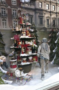 Christmas at Fortnum & Mason, London,pinned by Ton van der Veer