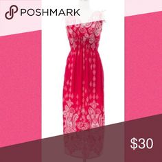 Flash sale final markdown Beautiful maxi! Measures approximately 52 inches! Dresses Maxi