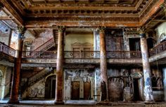 Most Beautiful Abandoned Hotels Around The World - World Wide Media,.abandoned hotels, abandoned places, forgotten places, ghosts towns, modern ruins, neglected buildings, Photography, ruined buildings, urban decay