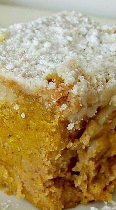 Pumpkin Deep Butter Cake