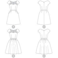 Sewaholic Patterns - Cambie Dress, €12.60 (http://www.sewaholicpatterns.com/cambie-dress/)