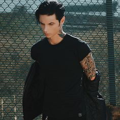 """248.8k Likes, 1,259 Comments - Andy Biersack (@andyblack) on Instagram: """"Thanks again to everyone who has been so kind and complimentary about my first @westtowerwarrior…"""""""