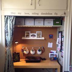 Desk In Closet closet desk | guest closet | pinterest | closet desk, desks and