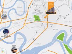 Vị trí địa lý Chung cư Khang Việt Premium