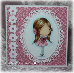 Handmade by Christine: Diecuts and Punches at In The Pink...