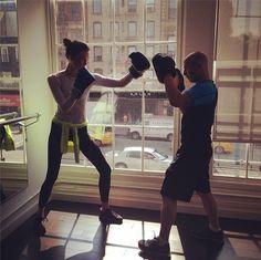 Victoria's Secret Angels Fitness Tips - theFashionSpot