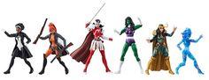 Marvel Legends A-Force Exclusive Box Set Toys R Us EE