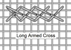 I ❤ embroidery . . . Long Armed Cross, Stitch of the Month September 2010 ~By Needlelace
