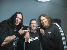 Marcel Schmier, Jeff Waters & Chuck Billy