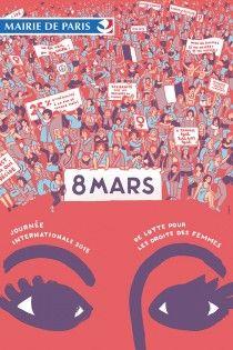Génial Affiche Pour La Journée De La Femme affiche-gue-ngl-women-8-mars-journee-femme | affiche/main/politique
