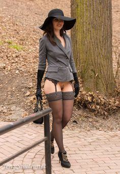 """sexyjenysmith: """" My new photoset is live. Login and enjoy! http://jenysmith.net/gallery/6404492 """" ready to meet the day while taking a liberating walk"""