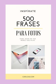 500 frases para tus fotos en instagram y otras redes sociales. #instagram #redessociales #fotos #estilodevida #frasesdevida Instagram Quotes, Instagram Tips, Instagram Feed, Frases Tumblr, Tumblr Quotes, Motivational Phrases, Inspirational Quotes, Caption For Yourself, Poses For Photos
