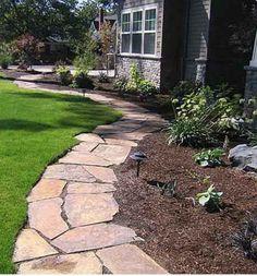 Garden Pathway ~ flagstone